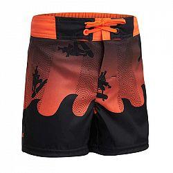 OLAIAN Detské šortky 500 Samouraï Red