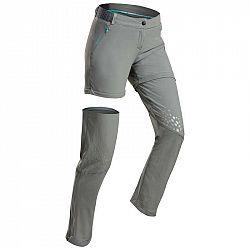 QUECHUA Odopínateľné Nohavice Mh550