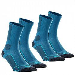 QUECHUA Vysoké Ponožky Mh 500 2 Ks