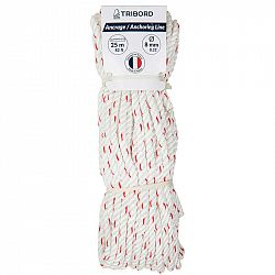 TRIBORD Lano 8 mm × 25 cm Biele